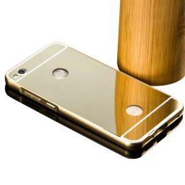Алуминиев бъмпер с огледален гръб за Huawei Honor 8 Lite