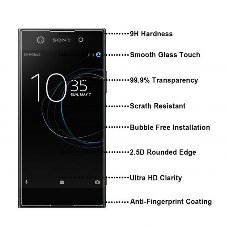 Протектор от закалено стъкло за Sony Xperia XA1