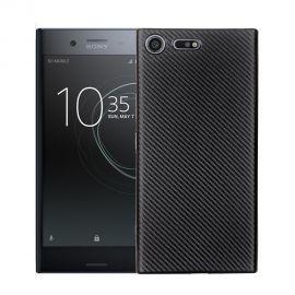 Силиконов карбонов гръб за Sony Xperia XZ Premium