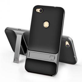 Хибриден PC гръб с kick-stand стойка за Huawei Honor 8 Lite