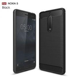 Силикон гръб Carbon за Nokia 5