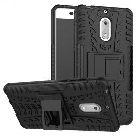 Хибриден PC гръб с kick-stand стойка за Nokia 6