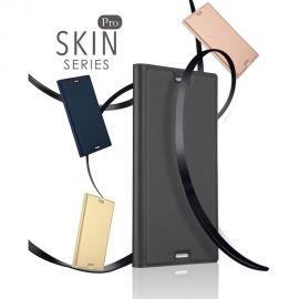 Луксозен кожен калъф за Sony Xperia XZ1