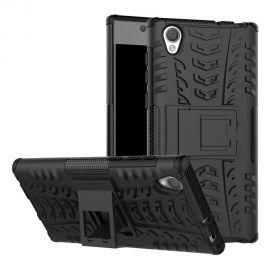 Хибриден PC гръб с kick-stand стойка за Sony Xperia L1