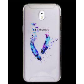 Силиконов гръб шарен за Samsung Galaxy J5 2017