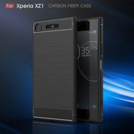 Силикон гръб Carbon за Sony Xperia XZ1