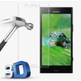 3D Full протектор за целия дисплей от закалено стъкло за Sony Xperia XZ1 Compact