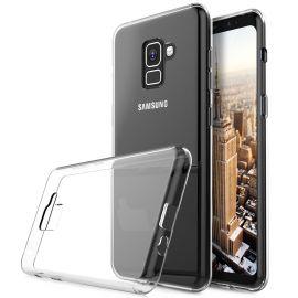 Ултра слим силиконов гръб за Samsung Galaxy A8+ Plus 2018