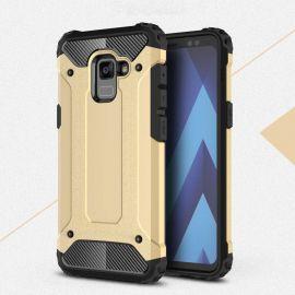 Противоударен калъф Metal Carbon за Samsung Galaxy A8+ Plus 2018 A730