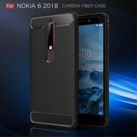 Силикон гръб Carbon за Nokia 6 2018 / Nokia 6.1