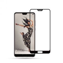 3D Full протектор за целия дисплей от закалено стъкло за Huawei P20