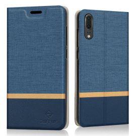 Луксозен кожен калъф за Huawei P20