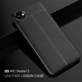 TPU гръб Leather за HTC Desire 12
