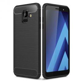 Силикон гръб Carbon за Samsung Galaxy A6 (2018) A600F