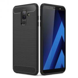 Силикон гръб Carbon за Samsung Galaxy A6 Plus (2018) A605F