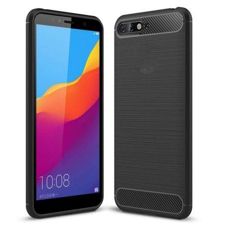 Силикон гръб Carbon за Huawei Y6 (2018)