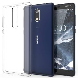 Ултра слим силиконов гръб за Nokia 5.1 2018