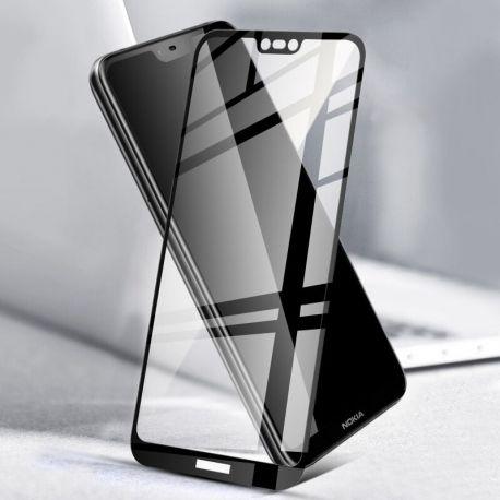 3D Full протектор за целия дисплей от закалено стъкло за Nokia 6.1 Plus (2018)