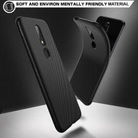 Релефен TPU кейс за Nokia 6.1 Plus (2018)