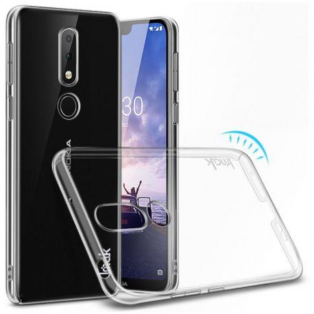 Imak Crystal Clear твърд гръб за Nokia 6.1 Plus (2018)