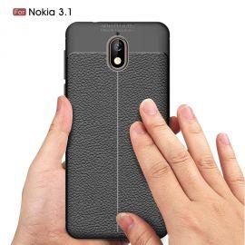 TPU гръб Leather за Nokia 3.1 (2018)