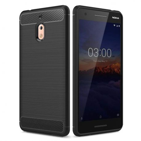 Силикон гръб Carbon за Nokia 2.1 (2018)