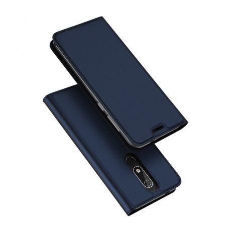 Луксозен кожен калъф за Nokia 5.1 (2018)