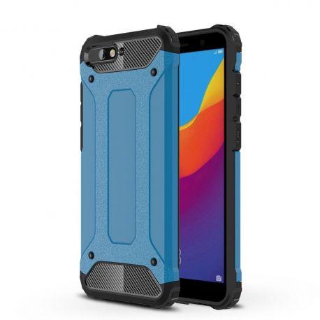 Противоударен калъф Metal Carbon за Huawei Y6 (2018)