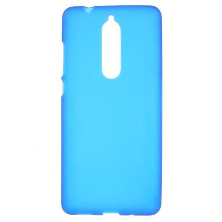 Матов TPU силиконов гръб за Nokia 5.1