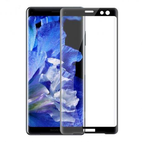 3D Full протектор за целия дисплей от закалено стъкло за Sony Xperia XZ3