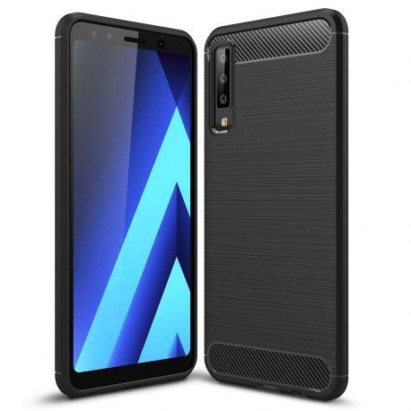 Силикон гръб Carbon за Samsung Galaxy A7 (2018) A750F