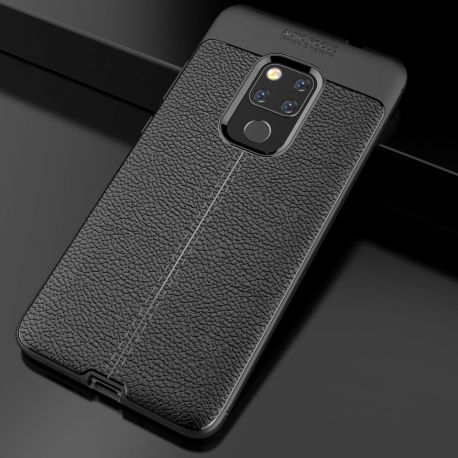 TPU гръб Leather за Huawei Mate 20