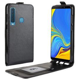 Кожен калъф вертикален флип за Samsung Galaxy A9 2018 A920