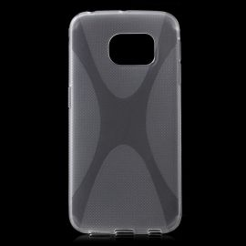 Гъвкав силиконов калъф X-Shape за Samsung Galaxy S6 Edge