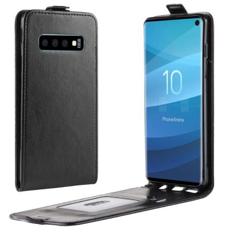 Кожен калъф вертикален флип за Samsung Galaxy S10 G970