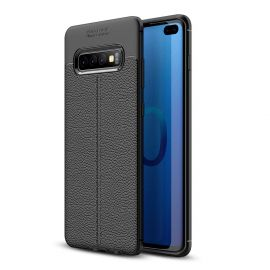 TPU гръб Leather за Samsung Galaxy S10+ Plus G975