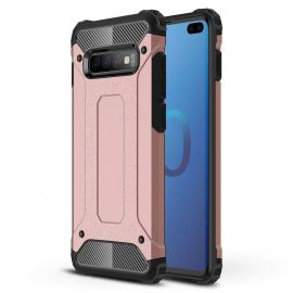 Противоударен калъф Metal Carbon за Samsung Galaxy S10+ Plus G975