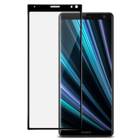 3D Full протектор за целия дисплей от закалено стъкло за Sony Xperia 10