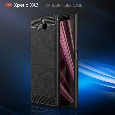 Силикон гръб Carbon за Sony Xperia 10