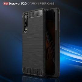 Силикон гръб Carbon за Huawei P30