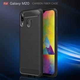 Силикон гръб Carbon за Samsung Galaxy M20