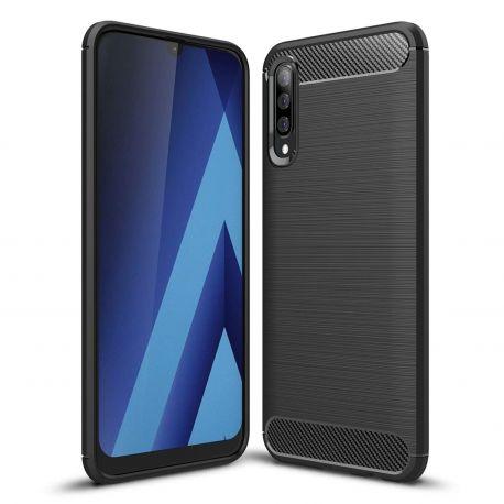 Силикон гръб Carbon за Samsung Galaxy A50