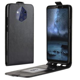 Кожен калъф вертикален флип за Nokia 9 PureView