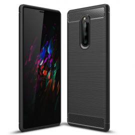 Силикон гръб Carbon за Sony Xperia 1