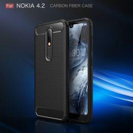 Силикон гръб Carbon за Nokia 4.2 2019