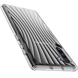 Релефен силиконов гръб за Samsung Galaxy Note 10 N970