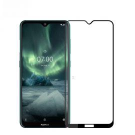 3D Full протектор за целия дисплей от закалено стъкло за Nokia 7.2 / 6.2