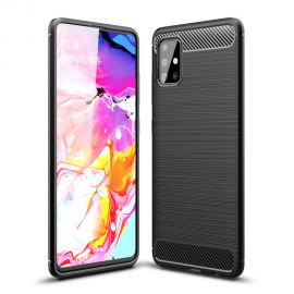 Силикон гръб Carbon за Samsung Galaxy A51