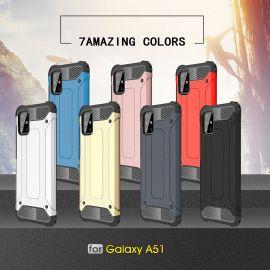 Противоударен калъф Metal Carbon за Samsung Galaxy A51