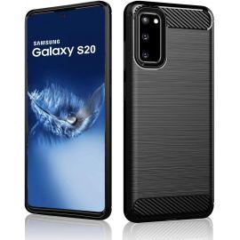 Силикон гръб Carbon за Samsung Galaxy S20